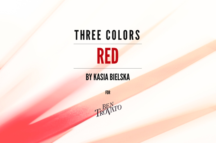 Three Colors - RED by Kasia Bielska, for Ben Trovato intro