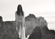 Lady Of The Rocks, fashion editorial by Salvatore Vitale