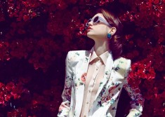 Fiori Bellissimi, fashion editorial by Ted Emmons