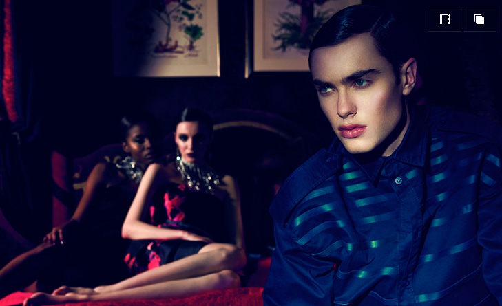 The Opium Den, fashion editorial by Alice Luker