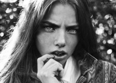 Kristine Froseth shot by fashion photographer Marteline Nystad