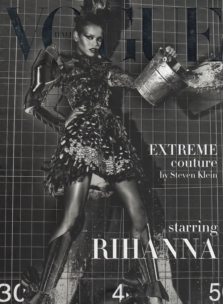 Extreme Couture by Steven Klein ft Rihanna 1